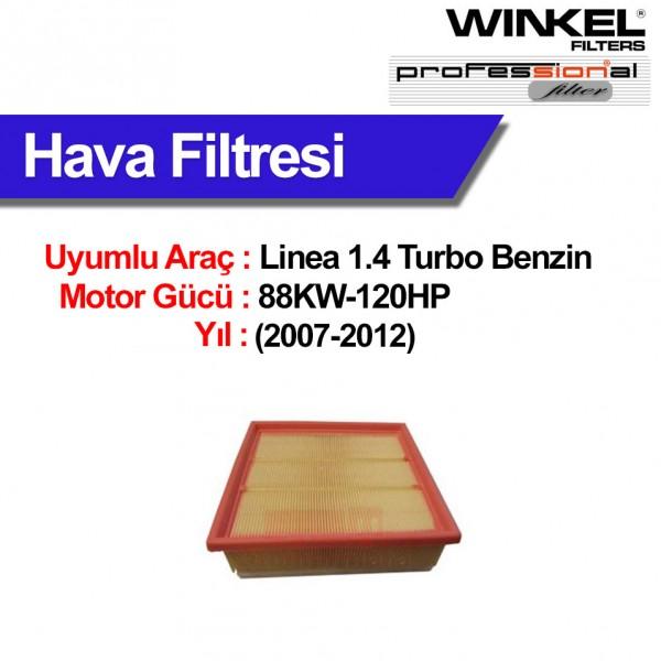 Fiat Linea 1.4 Turbo (2007-2012) Hava Filtresi