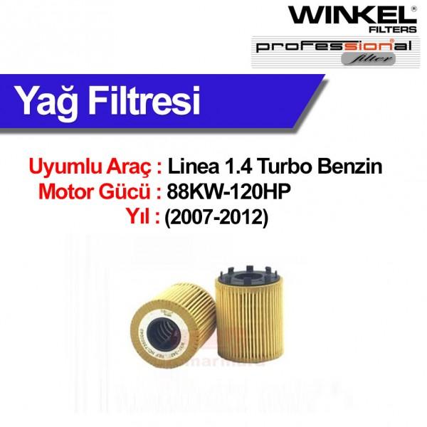 Fiat Linea 1.4 Turbo (2007-2012) Yağ Filtresi