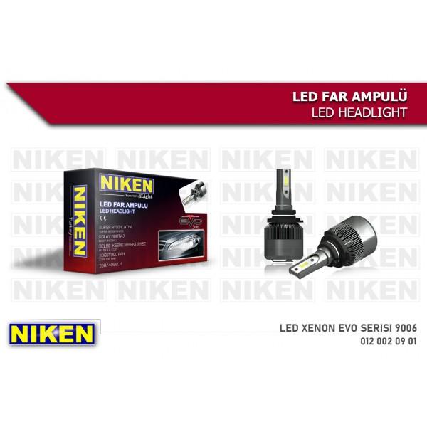 Niken 9006 12v Led Xenon Set Evo Serisi 30w 4000+4000LM