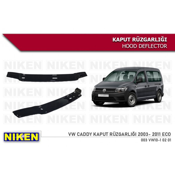 VW CADDY 2003- 2011 KAPUT RÜZGARLIĞI ECO